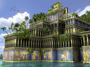 The Hanging Gardens of Babylon of the Prophet Daniel's time
